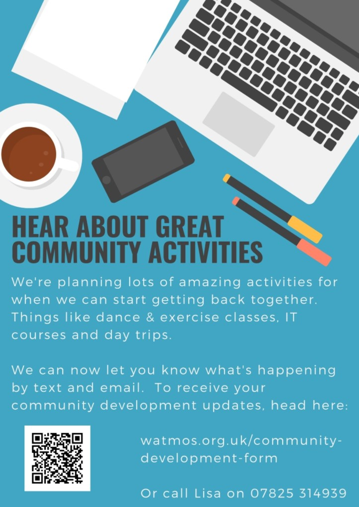 Hear about great community activities